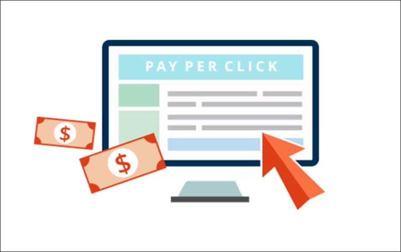Pays for each click on the banner, text or link